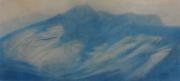 Monte Toc 2018 pastello su cartone cm 31x70